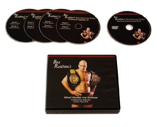 Bas Rutten MMA Workout DVDs and CD